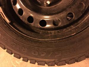 185 60 15 winter tires pneu hiver