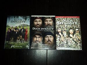 Duck Dynasty Season 1, 2, 3 DVDs