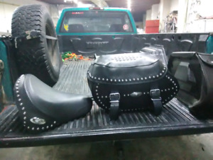 Factory Harley Davidson Seat and Bags