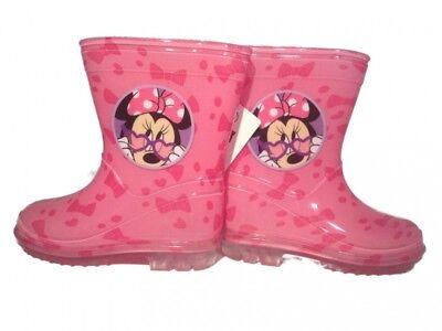 Disney Minnie Mouse Gummistiefel, Regenschuhe für Kinder in rosa oder pink (Stiefel Schuhe Für Kinder)