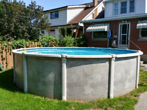 18 foot round pool