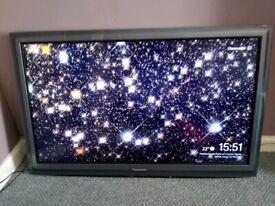 """Lovely Mint 42"""" Panasonic Viera TV with freesat / Freeview tuners built in"""