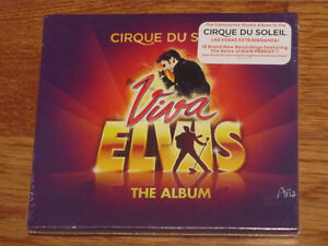 CD Cirque du Soleil Viva Elvis The Album neuf
