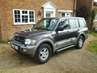 2001 MITSUBISHI SHOGUN-AUTOMATIC-EQUIPPED-7 SEATER-LETHER-FINANCE AVAILABLE