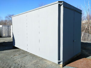 Steel Construction Secure Shed - 16'x8'x8'