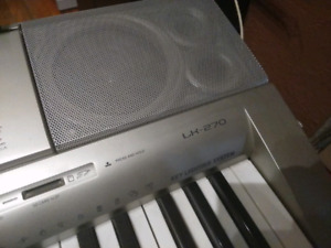 Casio LK-270 keyboard with stand and chair