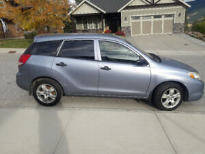 2004 Toyota Matrix Hatchback - Good Condition