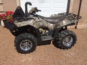 2009 Kawasaki Brute Force Atv Quad, 750 V Twin, Camo colour