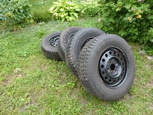 Goodyear Nordic Winter Tires on GM Rims