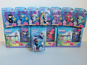 WOWWEE FINGERLINGS MONKEYS UNICORNS GLITTERS PLAYSETS YOU CHOOSE