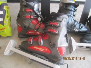2 ski packages( skis, boots, boot carrier and poles) St. John's Newfoundland image 6