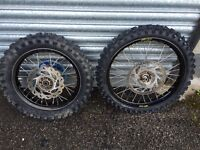 Suzuki rm 85 small wheels not YZ CR KTM KX