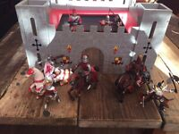 Castle and knight toys