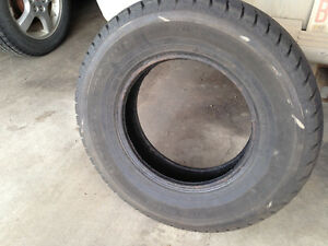 215/75/15.  Hallmark Premium All season tire