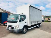 MITSUBISHI FUSO CANTER 7C15 16FT BOX / CURTAINSIDER, 2010/59