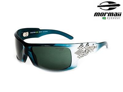 NIB MORMAII Model Asturias Mens Hand Painted Sports UV400 Sunglasses Blue Light