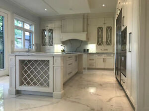 $18,000 FOR High Quality Customized Kitchen Cabinet & Countertop