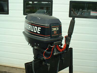 EVINRUDE 30 HP ELECTRIC SHORT SHAFT BRP JOHNSON OUTBOARD