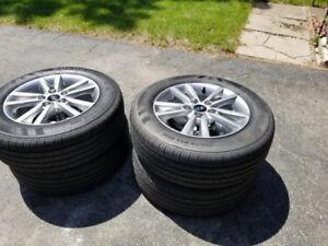 Brand new original hyundai sonata wheels + rims