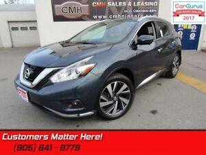 2015 Nissan Murano Platinum  - Leather Seats -   Cooled Seats