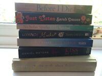 Set of 7 young adult novels
