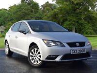SEAT Leon 1.6 TDI SE 5dr (start/stop) (silver) 2013