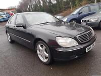 MERCEDES S320 CDi++IMMACULATE CONDITION++MOT FEB 1++JUST SERVICED++3 MONTH WARRA