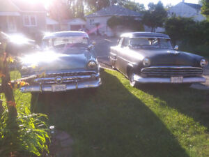 2 Ford's 53 coston and 54 mainline