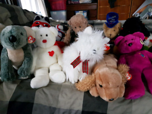 TY and Brassbutton bears