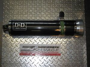 2000-2004 kawasaki zr-750 d&d carbon fibre slip on pipe