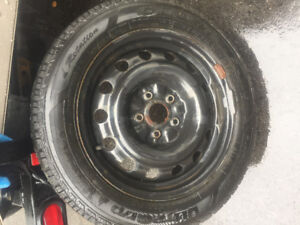 Goodyear Ultragrip Winter Tire and Rims