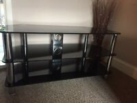 "50"" Black gloss TV stand"