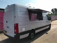VW CRAFTER LWB 2013REG MOBILE CATERING/BURGER/FOOD/COFFEE/ VAN FOR SALE