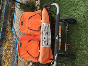 'Bob' double stroller