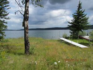 Lake Front 8.67 ac with Cabin and outbuildings