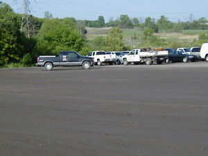 Recycled Asphalt Parking lots and Laneways