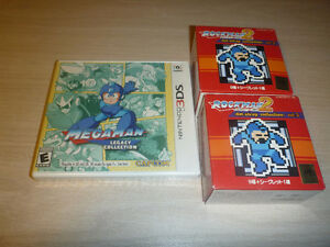 MegaMan Legecy Collection & more