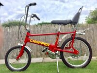 Genuine old school Raleigh Chopper bike bicycle