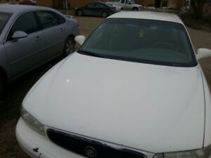 Car For SALE! 2003 Buick Century. (White)