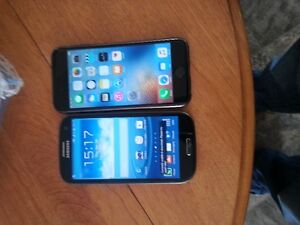 iphone6 16gb and 2 samsung s3 for only $500 BO