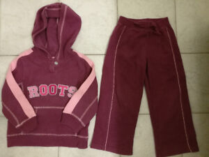 ROOTS Toddler Girl Sweater Set, Size 4T