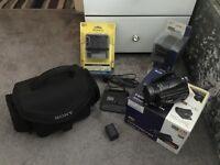 Sony HDR-CX6EK hadycam and extras