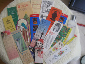 COLOURFUL BOOK-MARK COLLECTION...