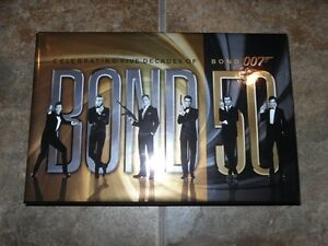 Bond 50: The Complete 23-Film Collection, Blu-ray