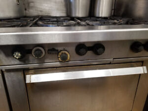 Slightly Used Garland Commercial Stove