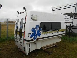 Pre-owned 8' Fiberglass Space Kap Mobile Treatment Centre