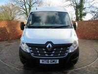 RENAULT MASTER LM35 DCI BUSINESS LWB 125 BHP DOUBLE REAR WHEEL 3 SEATS