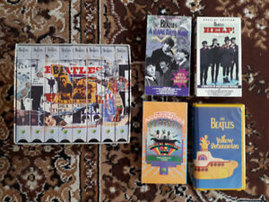 Beatles VHS Collection