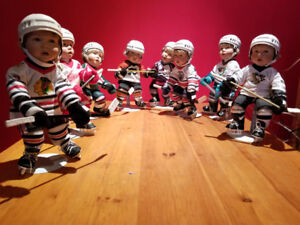 NHL COLLECTABLE PORCELAIN DOLLS