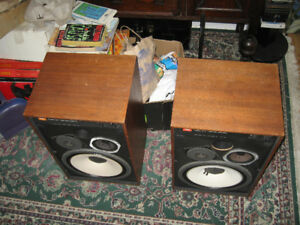 JBL 4312 Studio Monitors All Original Pair Original Drivers